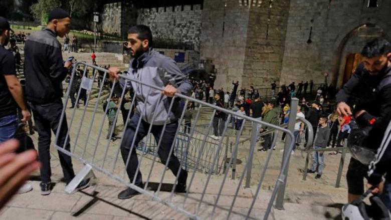 روسيا قلقة من التطورات في فلسطين