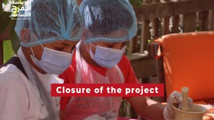 """""""الفرح الإجتماعية"""" اقامت مشروع دعم نفسي اجتماعي للمتضررين من إنفجار بيروت"""
