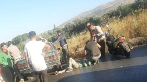 6 جرحى في حادث سير على طريق الضنية طرابلس