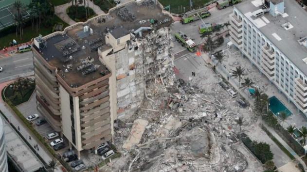 كارثة مبنى ميامي.. 4 قتلى والمفقودون 159 حتى الآن