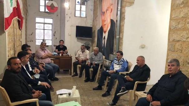 """""""التقدمي"""" يلتقي """"الأحرار"""" في الشوف وإتفاق على إستمرار التواصل والتنسيق"""