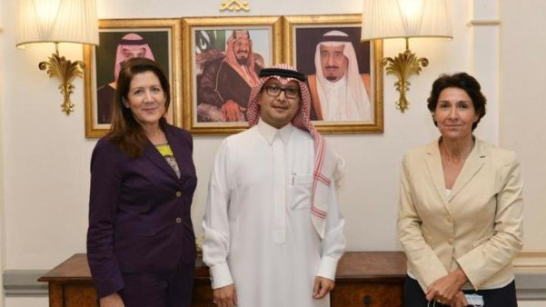 بخاري التقى شيا وغريو.. وبيان منتظر عن السفارة السعودية