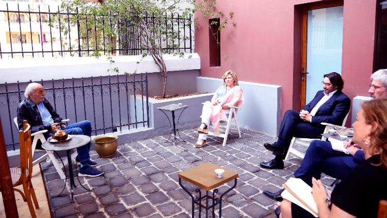 جنبلاط بحث مع رئيسة بعثة الإتحاد الأوروبي لمراقبة الإنتخابات المستجدات