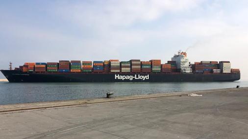 العريضي اتصل بمدير مرفأ طرابلس: Colombo Express إنجاز كبير ودليل ثقة