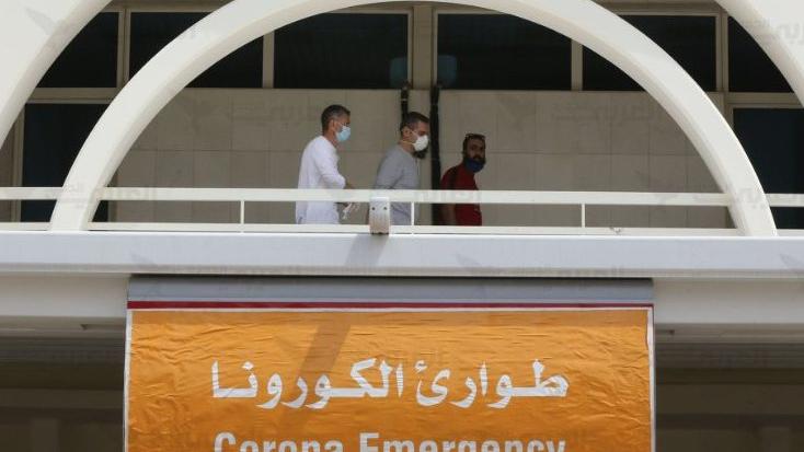 """مستشفى الحريري: 22 إصابة بـ""""كورونا"""" وحالتين حرجتين"""