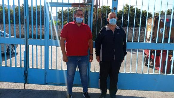إقفال موقف الأونروا في صيدا إحتجاجاً على تقصيرها في تأمين الخدمات