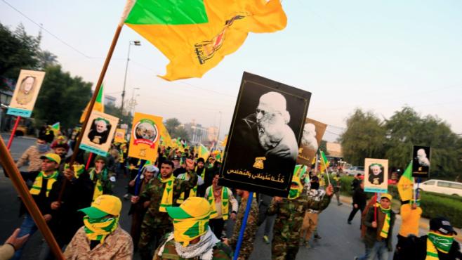 """كتائب """"حزب الله"""" تتوعد الأميركيين"""
