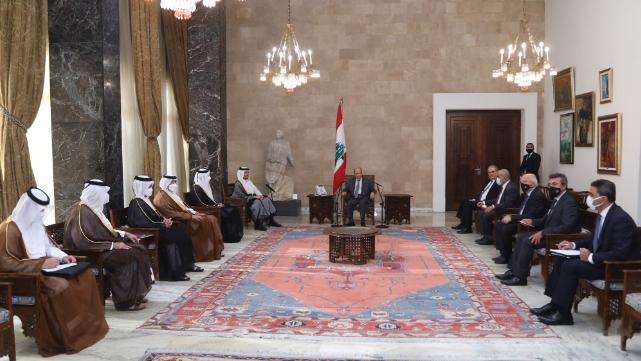 وزير الخارجية القطري زار عون وبري والحريري.. تأكيد على الاستعداد للمساعدة