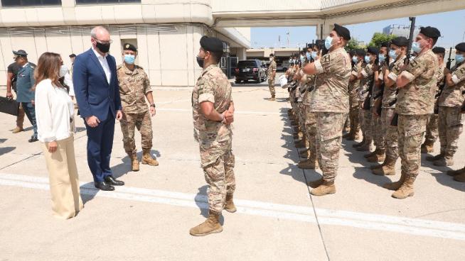 عكر ودعت كوفني وتلقت إتصالاً من غوتيريش: لتشكيل حكومة سريعاً للحفاظ على إستقرار وأمن لبنان