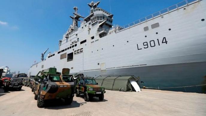 توصية فرنسية لإرسال قوات دولية الى لبنان.. ما الهدف؟
