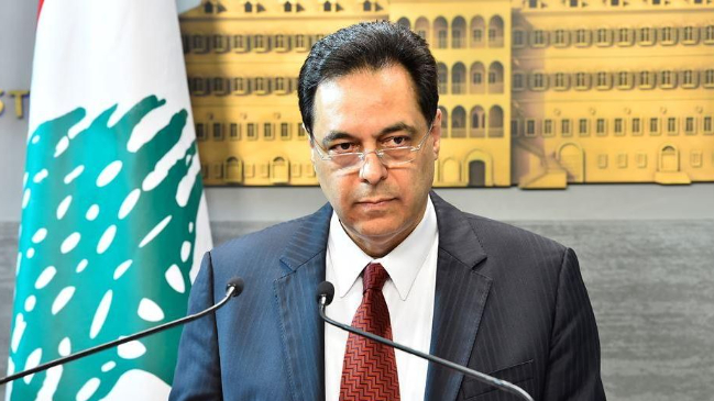 بعد مرور سنة على استقالة الحكومة.. دياب: محكومون بالرهان على نجاح المحاولات الجارية لتشكيل حكومة