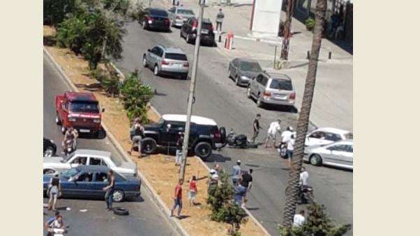 قطع عدد من الطرق في طرابلس إحتجاجاً على الأوضاع المعيشية