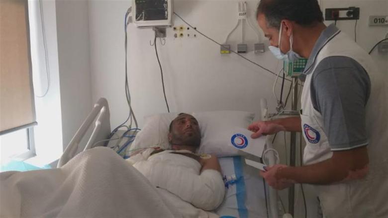 الهلال الأحمر الكويتي يُضمّد جراح مصابي إنفجار التليل