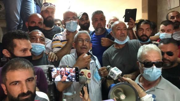 مسيرة في صيدا وإعتصام أمام كهرباء لبنان
