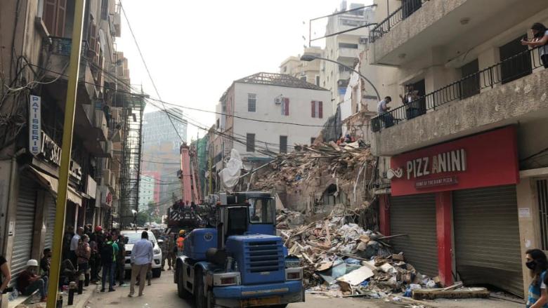 عام على انفجار المرفأ: هدم 100 مبنى وتصليح 50 % من المنازل... والدولة غائبة