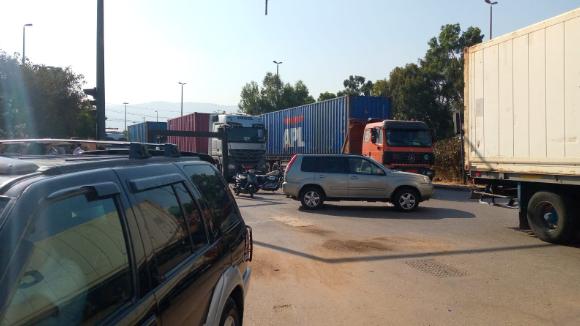 إضراب مفتوح لموظفي الشركة المشغلة لمحطة الحاويات في المرفأ