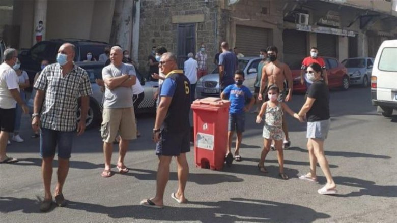 إعتصام لأهالي شكا إحتجاجاً على إنقطاع إشتراك مولدات الكهرباء