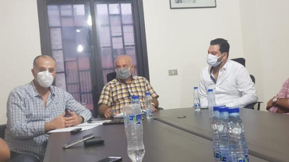 لقاء شبابي مع عبدالله في اقليم الخروب