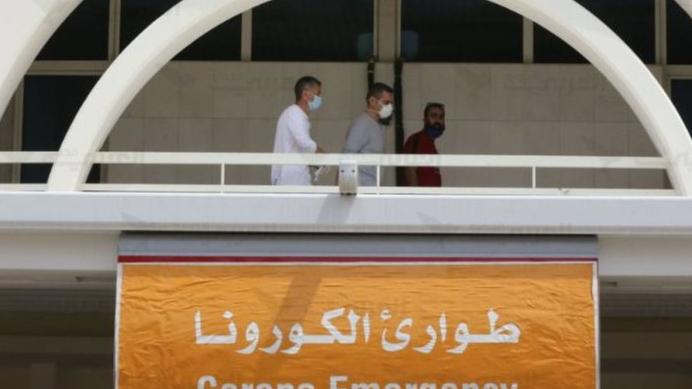 """مستشفى الحريري: 44 إصابة بـ""""كورونا"""" و20 حالة حرجة"""
