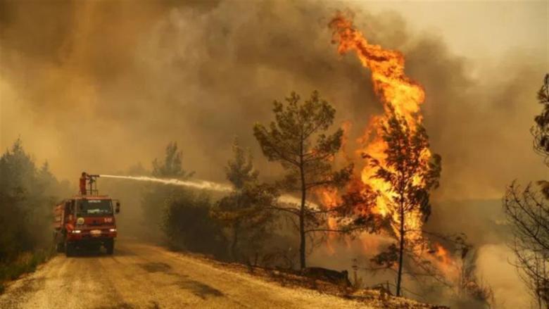إجلاء أكثر من 16 ألف شخص في كاليفورنيا بسبب حرائق الغابات