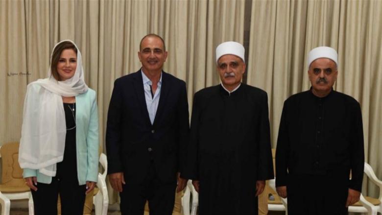 عبد الصمد زارت أبي المنى مهنئة بانتخابه