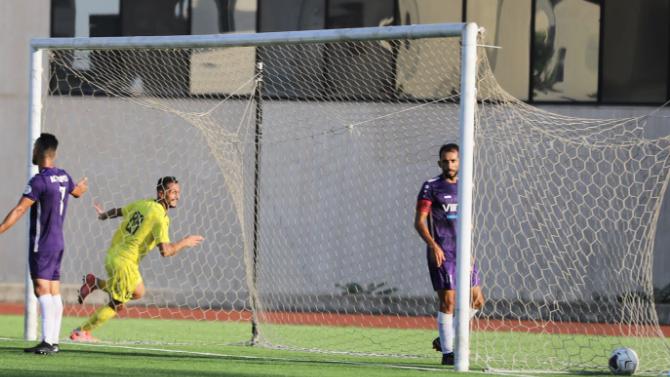 فوز العهد على طرابلس في بطولة لبنان لكرة القدم