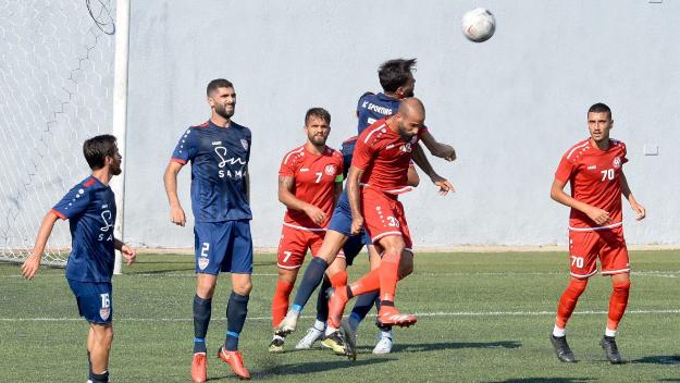 فوز الأخاء الأهلي عاليه على سبورتنغ في بطولة لبنان لكرة القدم
