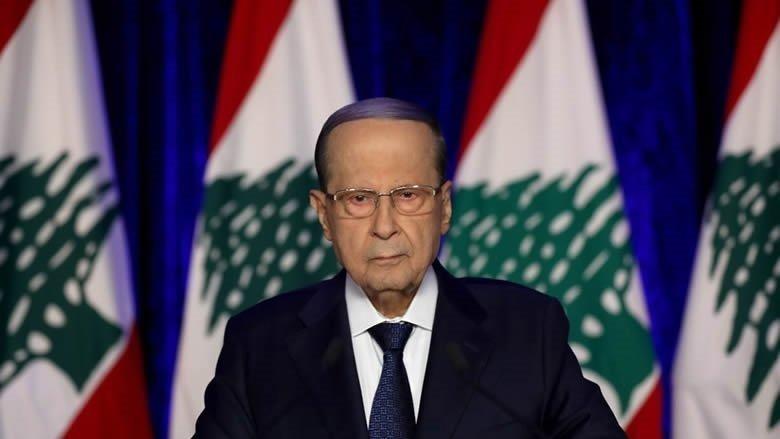 عون أبرق إلى الرئيس الجزائري معزياً ببوتفليقة