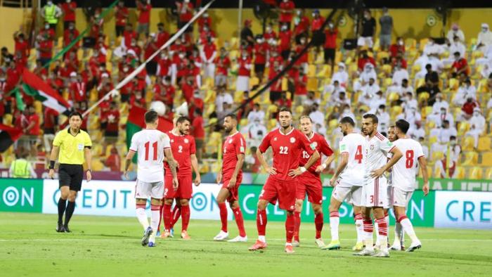 لبنان ينتزع نقطة غالية من الامارات في تصفيات المونديال