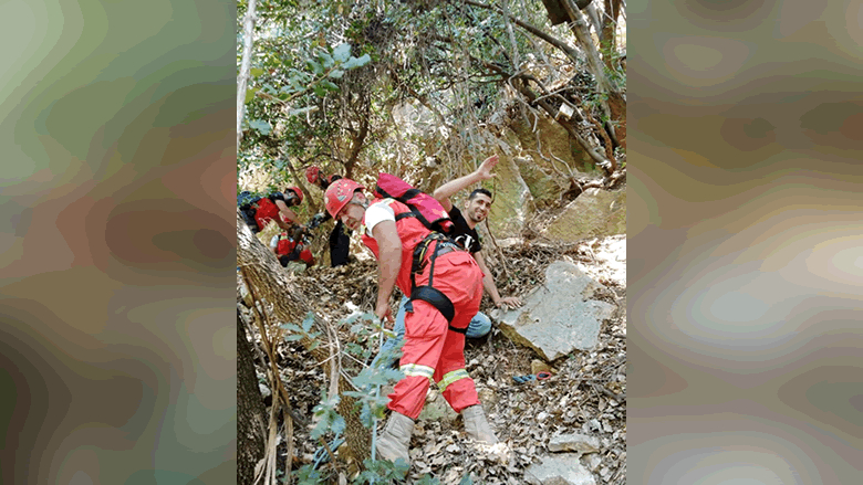 إنقاذ ستة شبان علقوا في واد بجرود الضنية