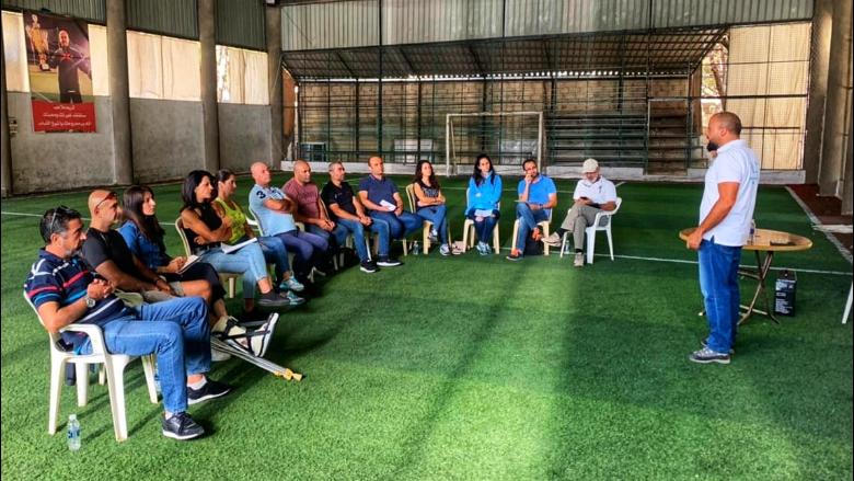 """ورشة عمل تدريبية حول الإرشاد السياحي لمفوضية الرياضة في """"التقدمي"""" بالتعاون مع محمية أرز الشوف"""