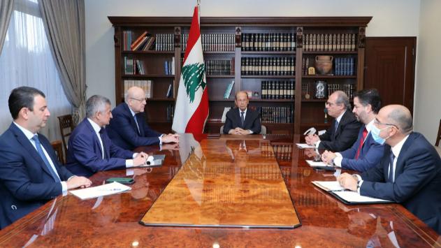 اجتماع في بعبدا محوره مفاوضات صندوق النقد
