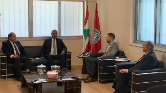 النائب جنبلاط استقبل أمين عام اتحاد الغرف العربية وعربيد.. وبحث في فرص استنهاض الاقتصاد اللبناني