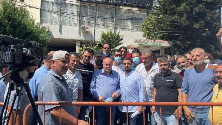 مستخدمو وعمال مياه لبنان الجنوبي: الإضراب المفتوح حتى إنصافنا